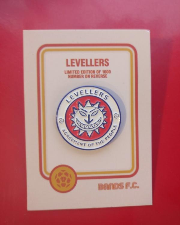 Levellers Enamel Badges